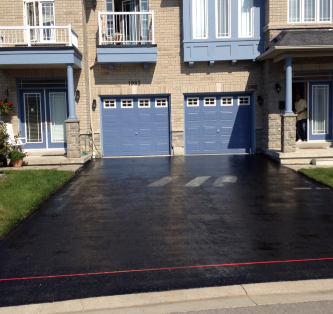 Driveway Sealing Finished Product Showcase